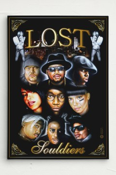 Lost Souldiers Canvas Leinwand