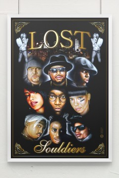 Artistik World Lost Souliders Poster
