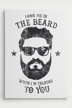 Bart Beard Leinwand Canvas