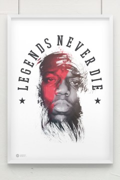 Artistik World Biggie Poster