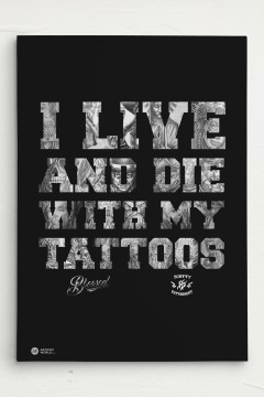 Tattoo Leinwand Canvas
