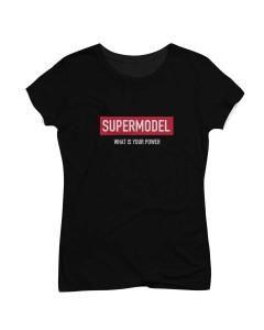 Supermodel T-Shirt Black
