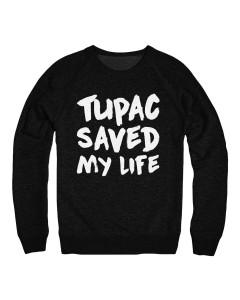 Tupac Saved My Life Sweatshirt Men