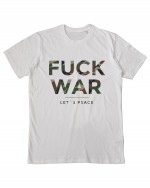 Fuck War Camo T-Shirt Men